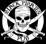 Black Pirates Pub logo